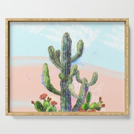 Cactus Serving Tray