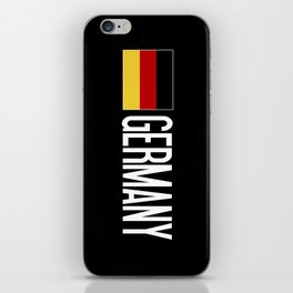 Germany: Germany & German Flag iPhone Skin