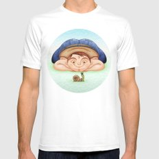 Caracol SMALL Mens Fitted Tee White