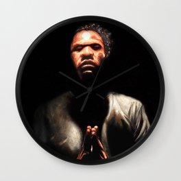 Prayin Man Wall Clock
