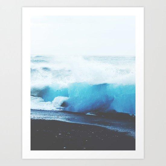 I Want The Ocean Now #society6 Art Print