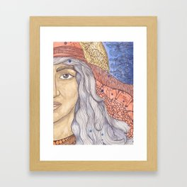 Huldah Framed Art Print