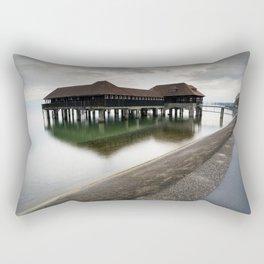 The Baths II Rectangular Pillow