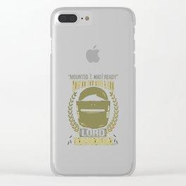 Lord Tachanka Clear iPhone Case
