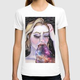 Galactic Word Vomit T-shirt