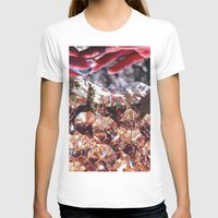 crystals T-shirts featuring Crystals by Collage Heaven