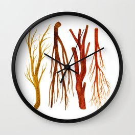 sticks no. 6 Wall Clock