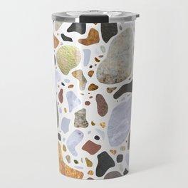 Textural Terrazzo Travel Mug