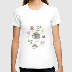 Ramen X-LARGE Womens Fitted Tee White