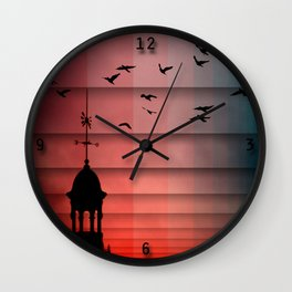 E-O Wall Clock
