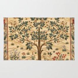 "William Morris ""Tree of life"" 3. Rug"
