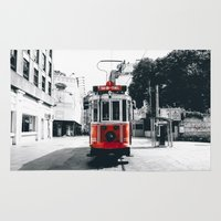 istanbul Area & Throw Rugs featuring Istanbul - Taksim by Ruveyda & Emre