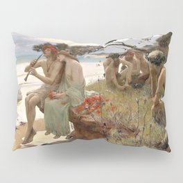Pastoral - Rupert Charles Wulsten Bunny Pillow Sham