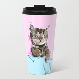 Sleeping Cat Travel Mug