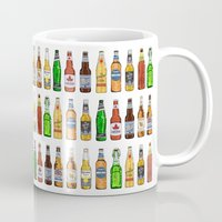 beer Mugs featuring BEER by BearandBugle