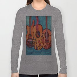 3 Guitars Long Sleeve T-shirt