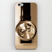 mickey iPhone & iPod Skins featuring Mickey by Larry Bierce