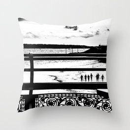 Training. Throw Pillow