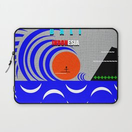 Bali Indonesia surfing design A Laptop Sleeve