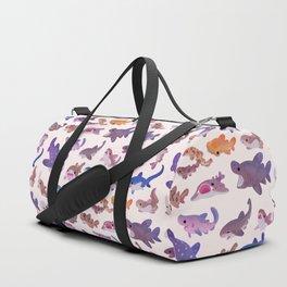 Shark day - pastel Duffle Bag