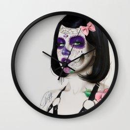 'Defy' Wall Clock