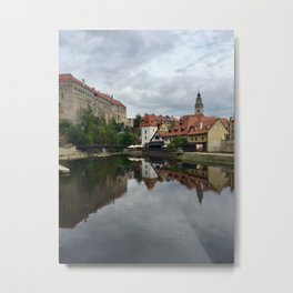 Cesky Krumlov, Czech Republic Metal Print