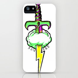 Thunder Sword iPhone Case