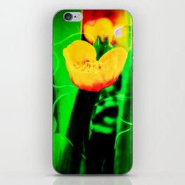 Flowers magic marsh Marigold iPhone Skin