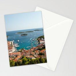 Hvar from Above Stationery Cards