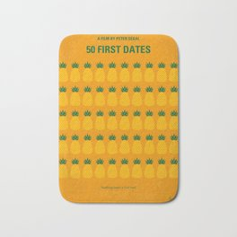 No696 My 50 First Dates minimal movie Bath Mat
