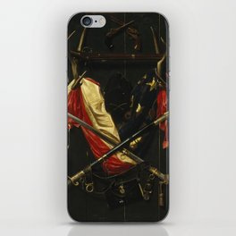 Emblems of the Civil War by Alexander Pope iPhone Skin