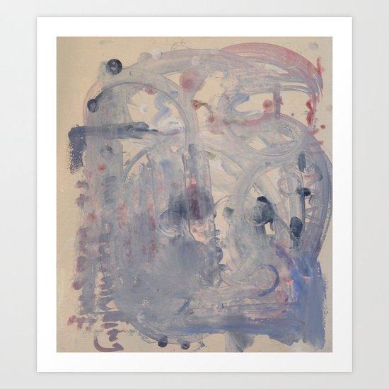 pale Art Print