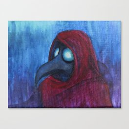 Hooded Plague Canvas Print