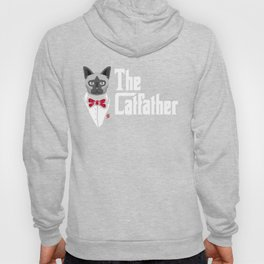 The CatFather Father of the Cats Cat dad Hoody