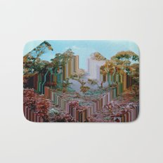 the crystal forest Bath Mat