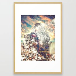 Snow, Sunshine and Sky Framed Art Print