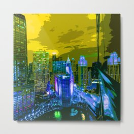 Chicago 008 Metal Print