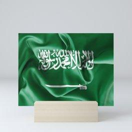 Saudi Arabia Flag Mini Art Print
