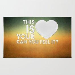 Bastille - Laura Palmer #4 (This Is Your Heart, Can You Feel It?) Rug