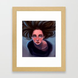 Almost Blue Framed Art Print