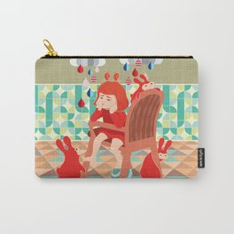 A Day To Idle And Daydream Carry-All Pouch