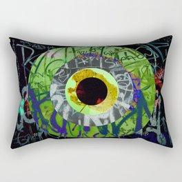 Turning Circles 4 Rectangular Pillow