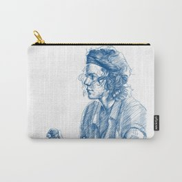 harry in blue Carry-All Pouch