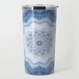 Agate Mandala Travel Mug