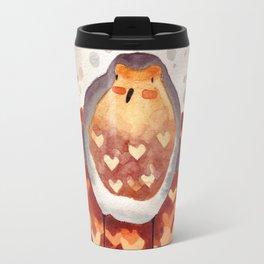 Robin and Love Travel Mug