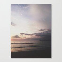 Pastel + Surf Canvas Print