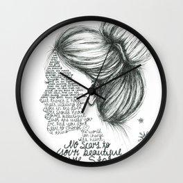 Scars to Your Beautiful (Alessia Cara) Wall Clock
