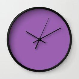 Declaration of Spring ~ Violet Wall Clock