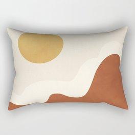 abstract minimal 40 Rectangular Pillow