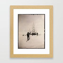Vintage Explorers, 1894 Framed Art Print